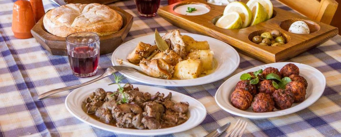 Cyprus homes for holidays- Cyprus cuisine